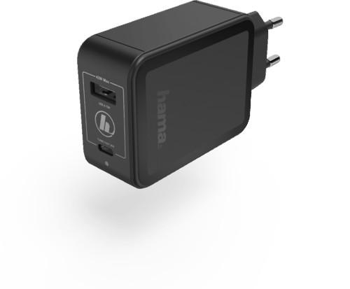 """A Plus ŁADOWARKA SIECIOWA""""Qualcomm Quick Charge Power Delivery PD) +USB-A 42WATT CZARNA"""