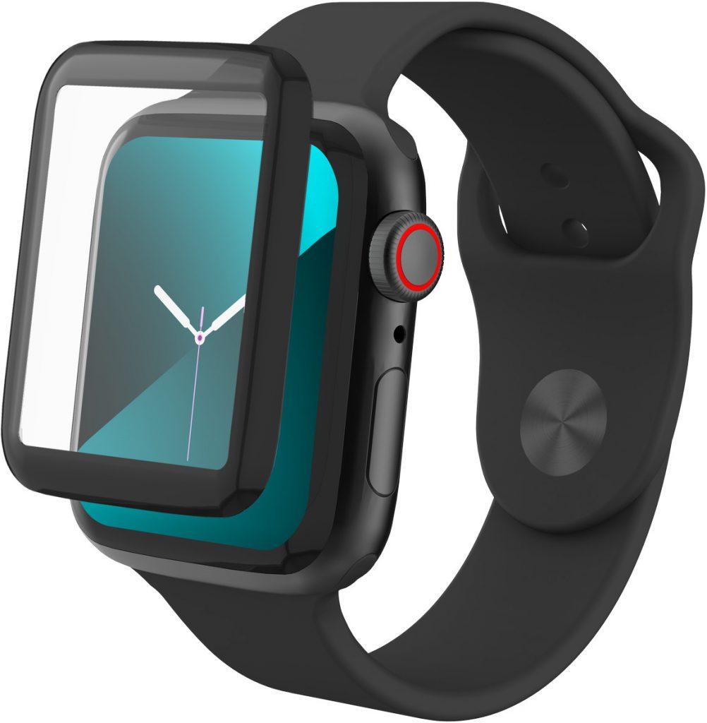 Apple InvisibleShield Zagg InvisibleShield GlassFusion Szkło Hybrydowe na Cały Ekran do Watch 5 (44mm) / Watch 4 (44mm) 200304006