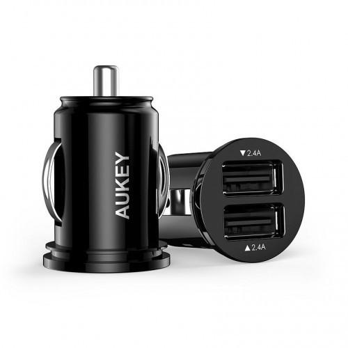Aukey CC-S1 ultraszybka ładowarka samochodowa 2xUSB AiPower 4.8A 24W