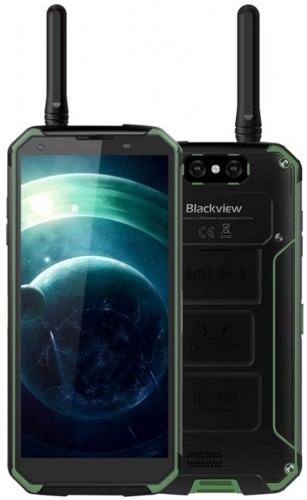 Blackview BV9500 Pro 128GB Dual Sim Czarno-zielony