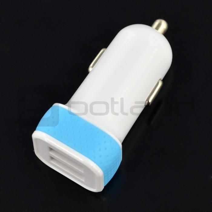 Blow Ładowarka / zasilacz samochodowy G31A 5V/3,1A 2x USB ZAS-06472