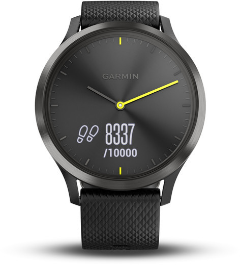 Garmin Vívomove HR Sport Fitness-Tracker czarny