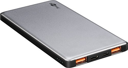Goobay 59821Quick Charge Powerbank (10,000mAh) Szary/czarny 59821