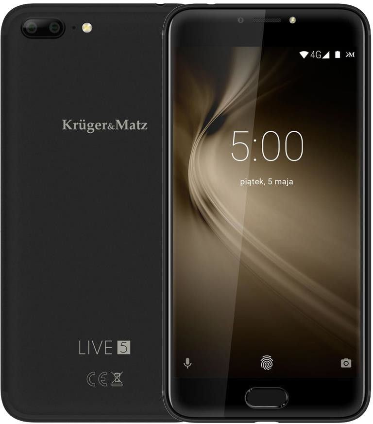 Kruger&Matz Live 5 32GB Dual Sim Czarny