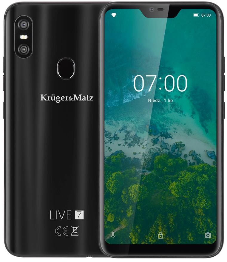 Kruger&Matz Live 7 64GB Dual Sim Czarny