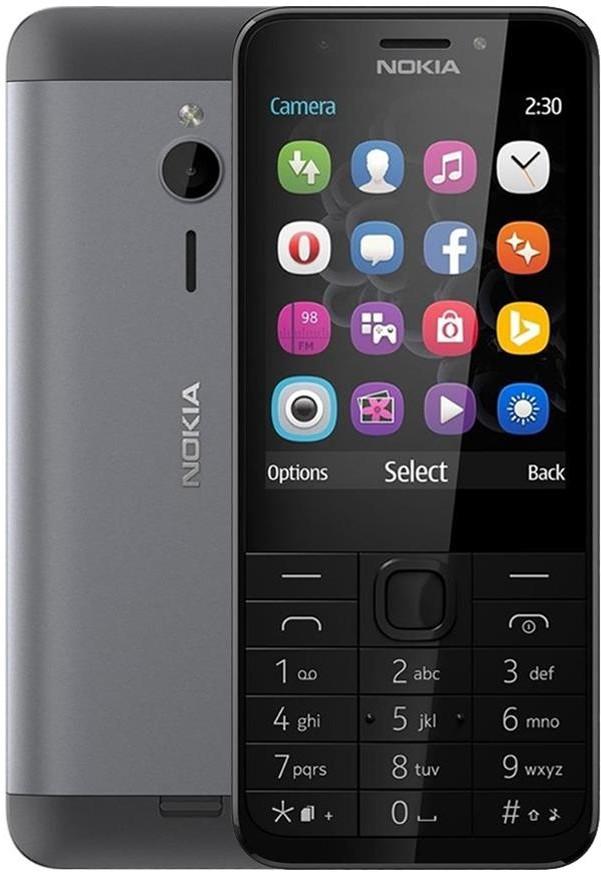 Nokia 230 Dual Sim Szary