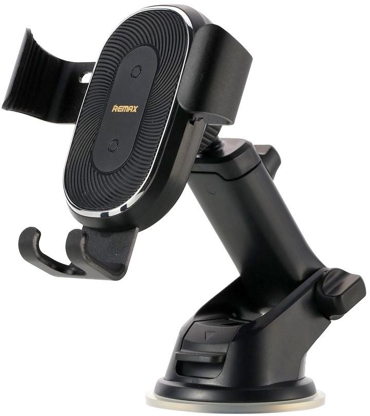 Remax IziGSM uchwyt samochodowy RM-C37 z ładowaniem indykcyjnym czarny do SAMSUNG ZV50