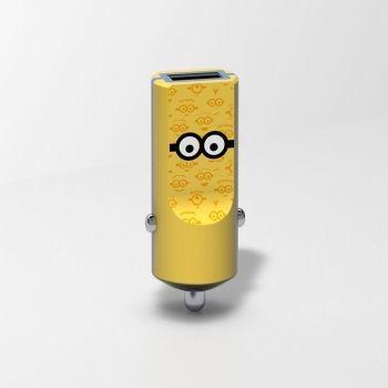 Tribe Minionki Ładowarka samochodowa Buddy 1 USB Tom CCR12101