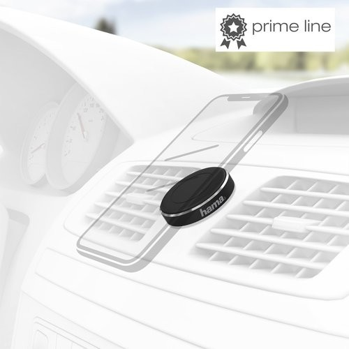 """Universal """"Magnet"""" Smartphone Holder Stick-on black"""