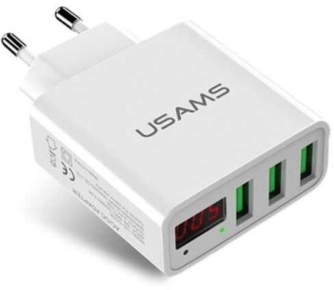 Usams Ładowarka LCD US-CC035