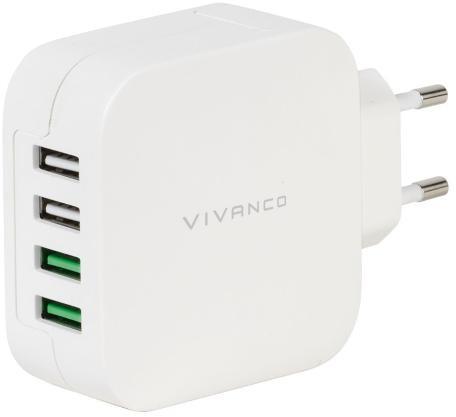 Vivanco 37564 Fast Charging 4xUSB 37564