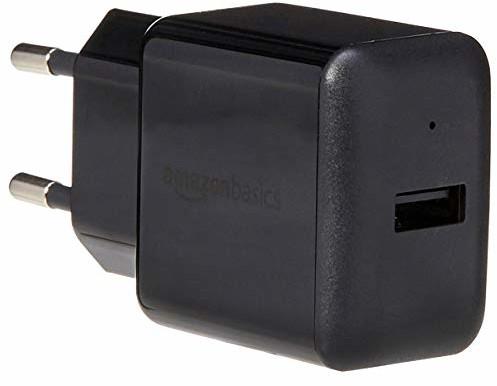 AmazonBasics ładowarka sieciowa USB, 40 W, 4 gniazda USB 1 szt.