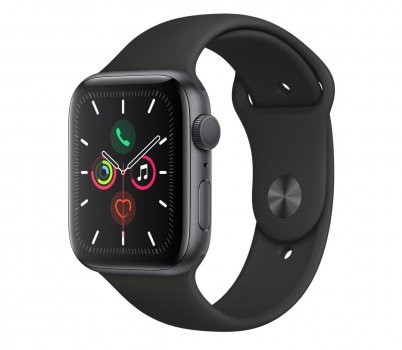 Apple Watch Series 5 44mm Gwiezdna szarość (MWVF2WB/A)