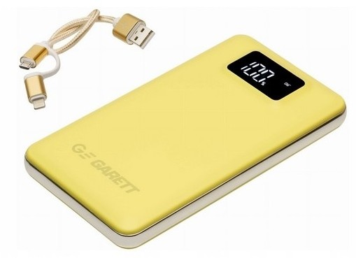Garett Power 10 10000mAh Żółty
