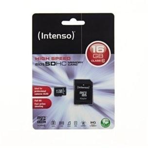 Intenso MicroSDHC Class 10 16GB (3413470)