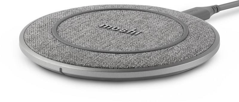 Moshi Otto Q Wireless Charging Pad - Bezprzewodowa ładowarka Qi (Alpine Grey) 99MO022211