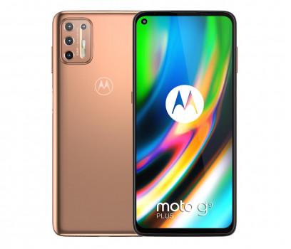 Motorola Moto G9 Plus 128GB Dual Sim Złoty