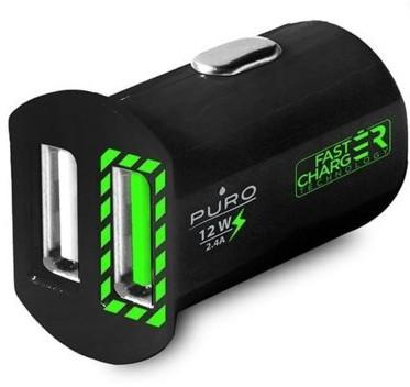 PURO Ładowarka samochodowa Mini Car Fast Charger BLACK FRIDAY Od 24 do 26 listopada
