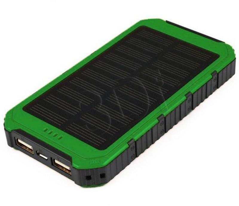 Sunen PowerNeed S6000G ładowarka solarna 6000mAh z oświetleniem LED