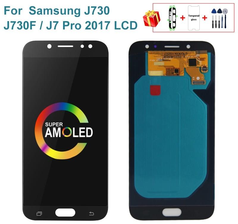 Super AMOLED LCD do Samsung Galaxy J730 J730F J7 Pro 2017 wyświetlacz LCD ekran dotykowy Digitizer