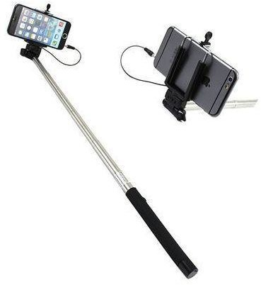 XREC Selfie Stick 23-110 cm czarny
