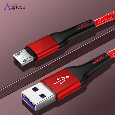 3M 1m 2m Micro USB kabel do Xiaomi Redmi Note 5 Pro Android telefon komórkowy kabel danych do