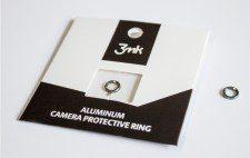 3MK Pierścień ochronny na obiektyw 3MK Aluminium Camera Protective Ring iPhone 6/6s, srebrny