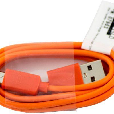 4World 07953 Kabel USB - USB(micro)1 m pomarańczowy