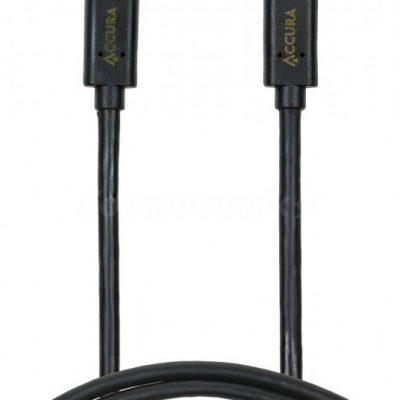 ACCURA USB-C 1.0m czarny ACC2177