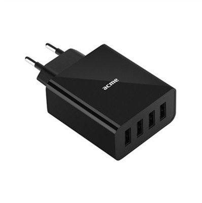 Acme EUROPE Ładowarka sieciowa CH207 4 porty USB 5A 25W szybka 504599