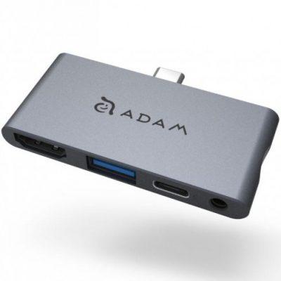 Adam Elements Hub adapter Adam Elements Casa Hub I4, szary 4710343470601