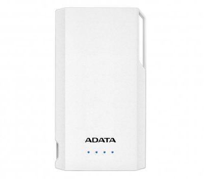 Adata S10000 10000mAh Biały (AS10000-USBA-CWH)