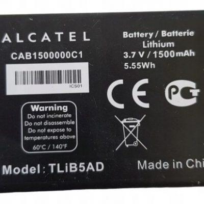 Alcatel Bateria 996 995 993D TLiB5AD CAB31Y0000C1
