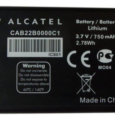 Alcatel Bateria One Touch Ot 2010 2010X 2010D