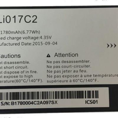 Alcatel Bateria TLi017C2 7040T Pop C7 One Touch 2