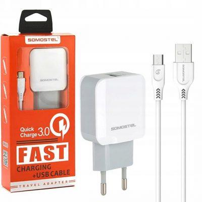 Alcatel Ładowarka sieciowa Fast Charge 3.0A do X1