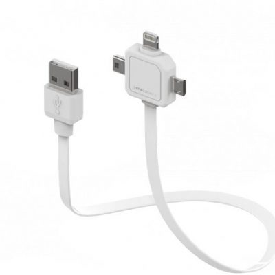 Allocacoc allocacoc Power USBcable 3 w 1 PC_9002_UC80CN