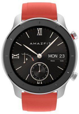 AMAZFIT GTR 42mm Czerwony/Aluminiowy