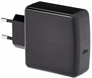 AmazonBasics One Port Power Delivery 3.0 Type-C Wall Charger, EU, 30W