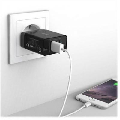 Anker 2-Port USB Charger - power adapter AK-B2021L11