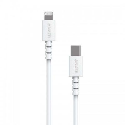 ANKER Anker PowerLine Select USB-C Lightning 0.9m kabel biały A8612G21