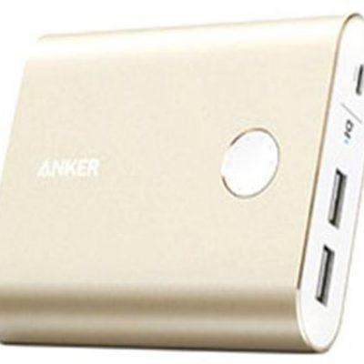 Anker Powerbank 13400 mAh złoty