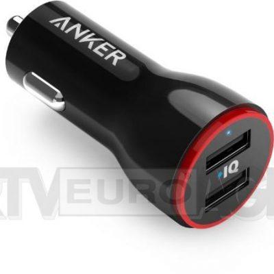 Anker PowerDrive 2 czarny A2310G11