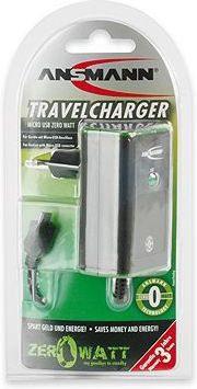 Ansmann Ładowarka Micro USB Travel microusbtrav