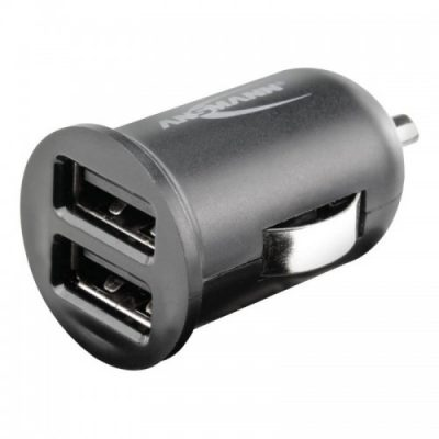 ANSMANN Ładowarka samochodowa USBx2 In-Car Charger 224 1000-0023
