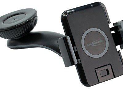 Ansmann WiLine stacja ładująca Qi do smartfonów z technologią Qi - czarna 1001-0043