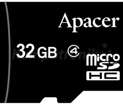 Apacer microSDHC 32GB (AP32GMCSH4-RA)