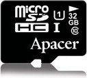 Apacer MicroSDHC Class 10 + adapter 32GB (AP32GMCSH10U1-R)
