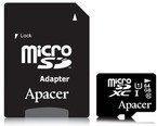 Apacer MicroSDXC Class 10 + adapter 64GB (AP64GMCSX10U1-R)