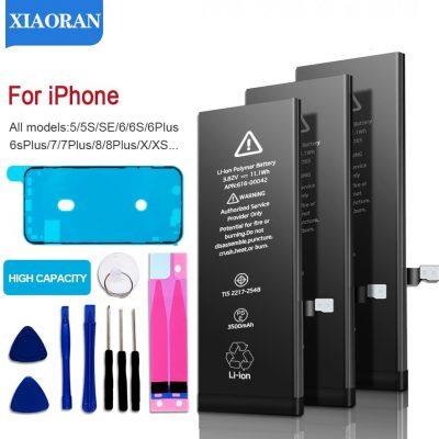Apple AliExpress Bateria telefonu o dużej pojemności do 5S 5 6S 6 7 8 Plus X SE Xr Xs Max Bateria zapasowa do